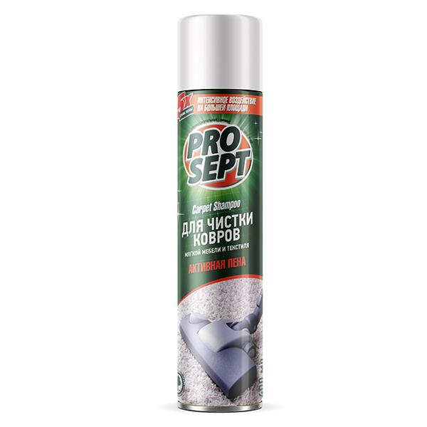 Активная пена Prosept Carpet Shampoo для чистки