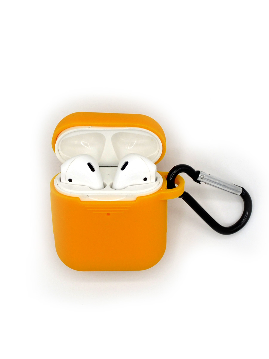 Чехол Innovation для AirPods Orange фото