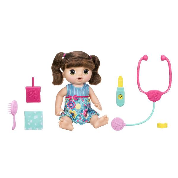 Купить Игровой набор Hasbro Baby Alive Кукла Малышка у врача C0958121, Игровые наборы