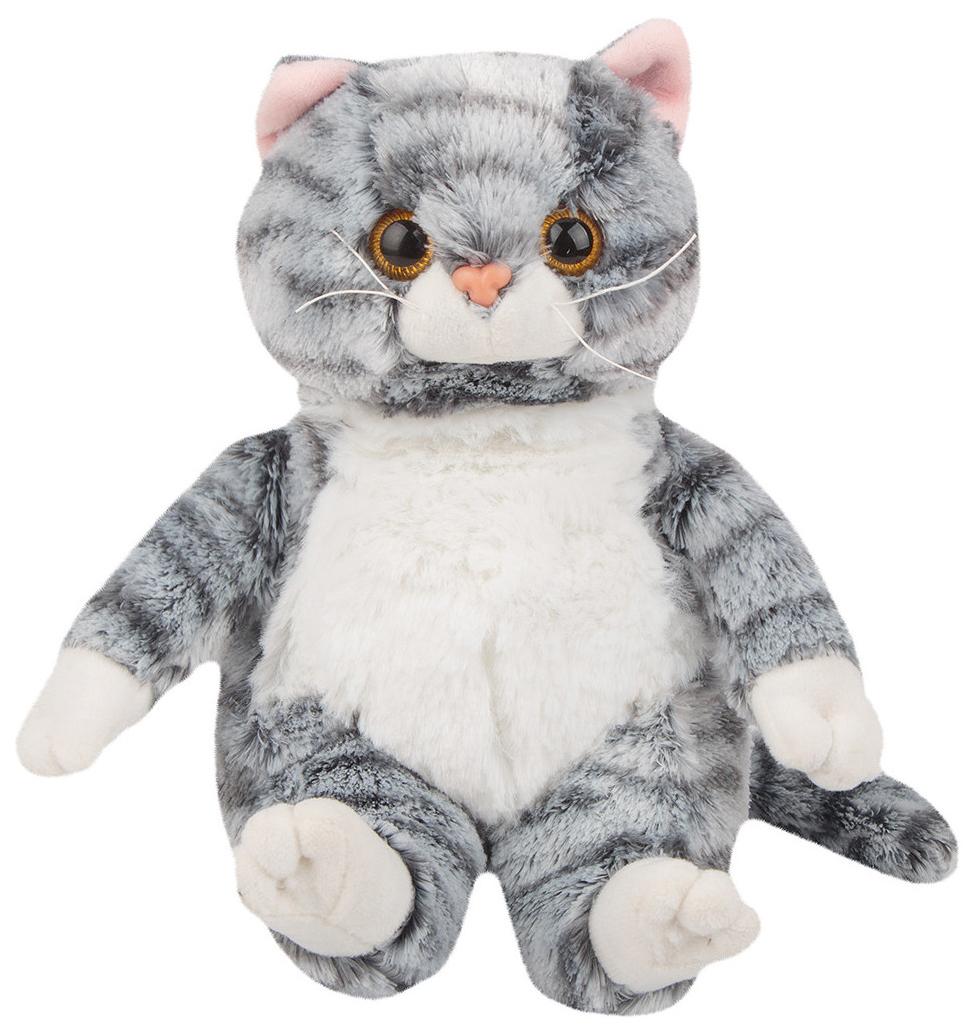 Купить Мягкая игрушка Полосатый кот , 20 см, Игруша, Мягкие игрушки животные