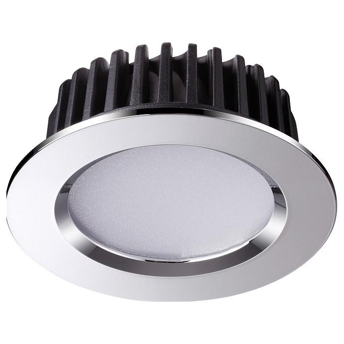 Встраиваемый светодиодный светильник Novotech Drum 357908