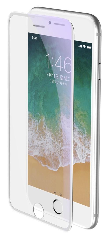 Защитное стекло Baseus Curved Glass для iPhone 6/6S/7/8 White