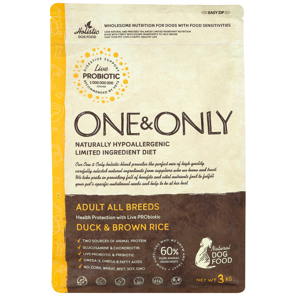 ONE AND ONLY ADULT ALL BREEDS DUCK#AND#RICE