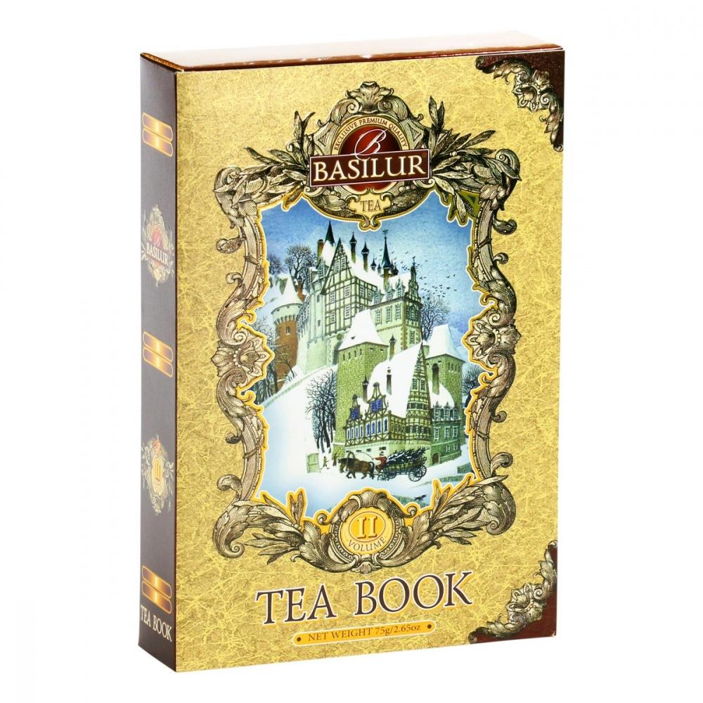 Чай Basilur Чайная книга. Том 2 черный с добавками 75 г фото