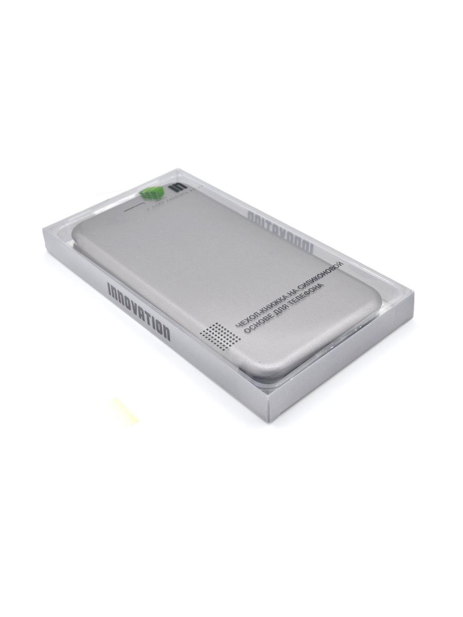 Чехол Innovation для Huawei Mate 10 Pro Book Silver