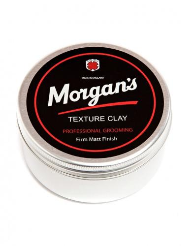 Текстурирующая матовая глина для укладки волос Morgan's