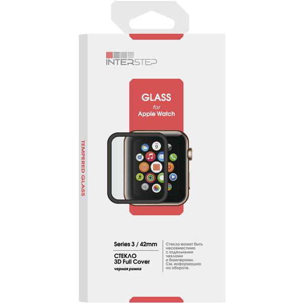 Защитное стекло InterStep для Apple Watch Series