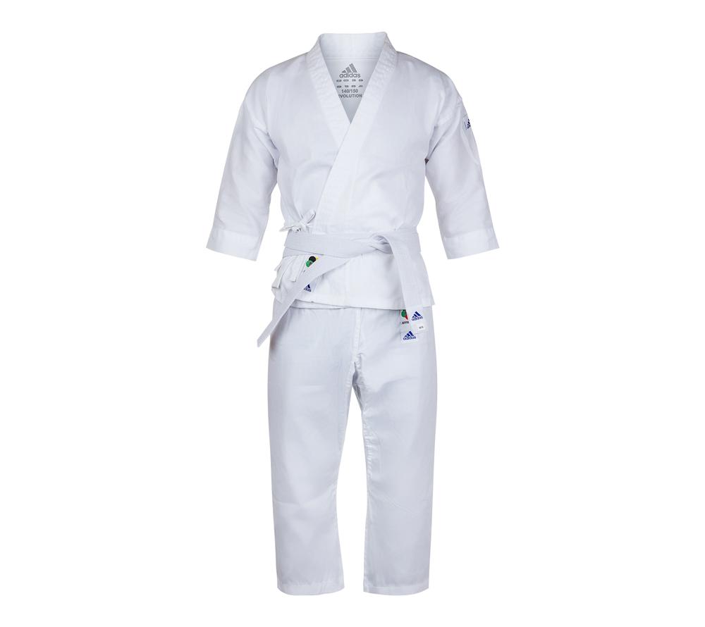 Кимоно Adidas Evolution WKF белое, 3XS,