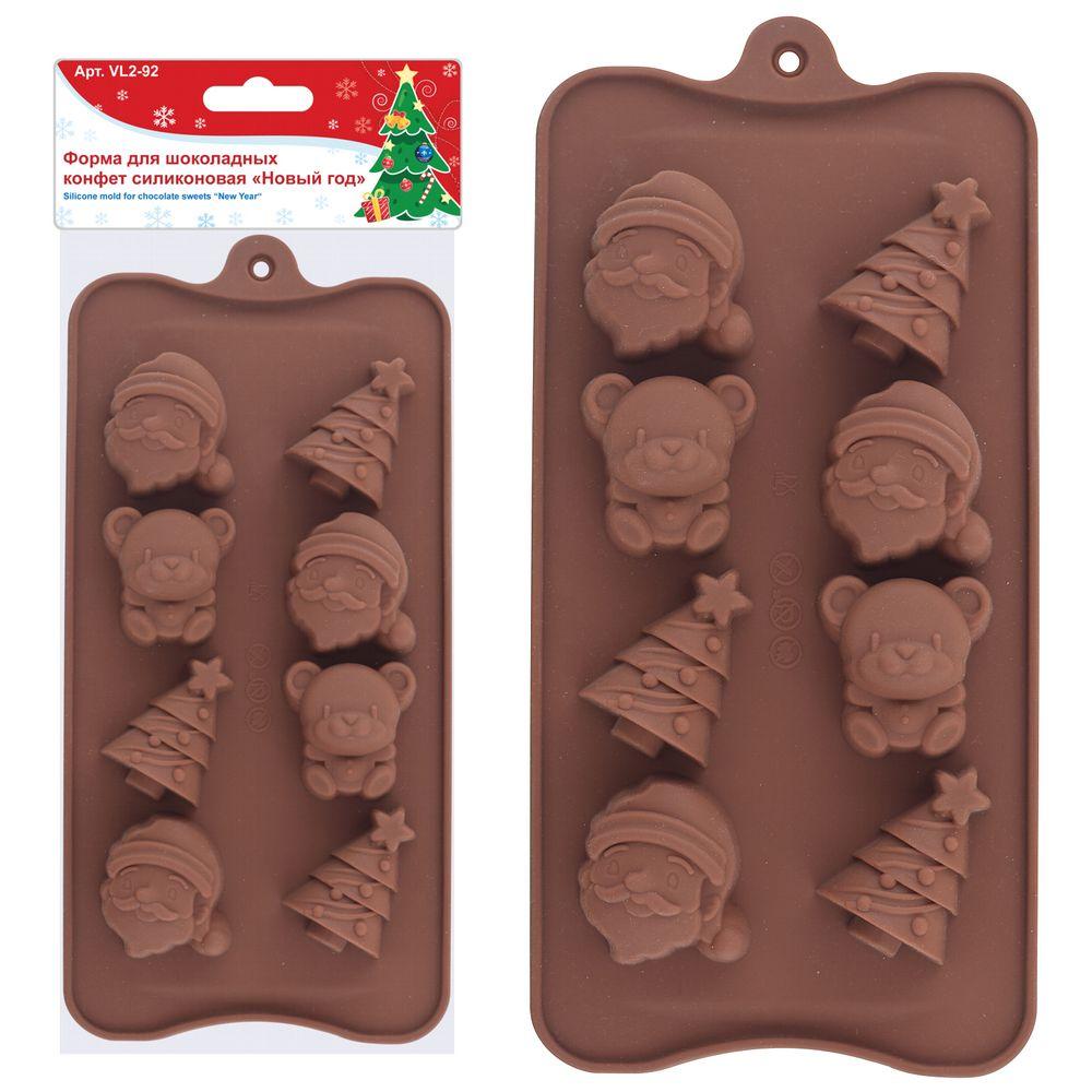 Силиконовая форма для шоколадных конфет