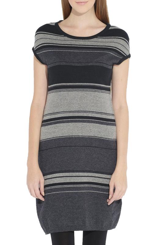 Платье женское Olenny 1W323238 серое 42 RU фото