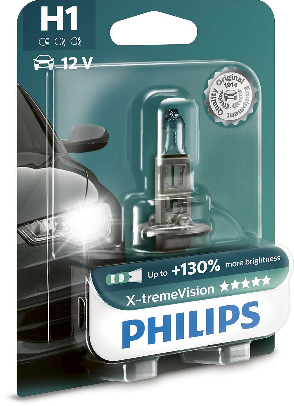 A/Лампа Philips H1 X-Tremevision Philips арт. 12258xv b1 фото