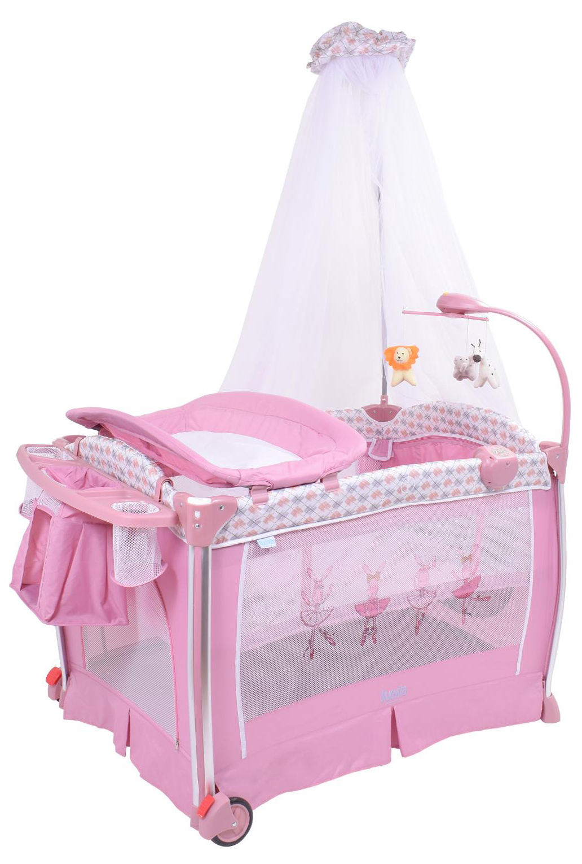 Детская кровать манеж Nuovita Fortezza NUO_AP930_601 Rose