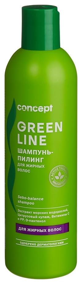 Шампунь Concept Green line Sebo-balance 300 мл