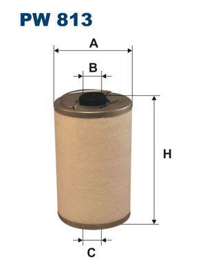 Фильтр топливный FILTRON PW813 по цене 516