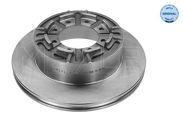 Тормозной диск MEYLE 215 523 0010