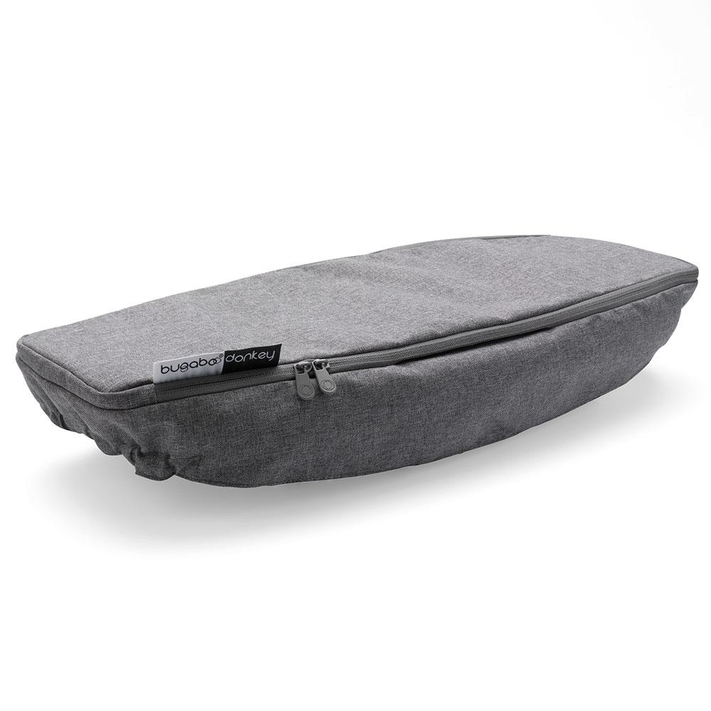 Купить Чехол для боковой корзины BUGABOO Donkey 2 Grey melange, Комплектующие для колясок