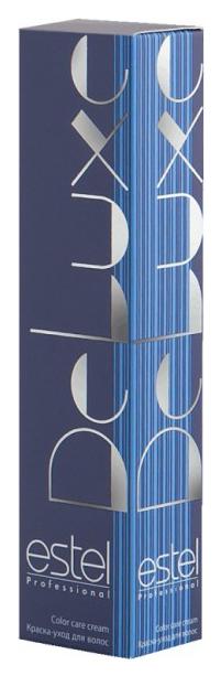 Краска для волос Estel Professional De Luxe 6/77 Темно-русый коричневый интенсивный 60 мл