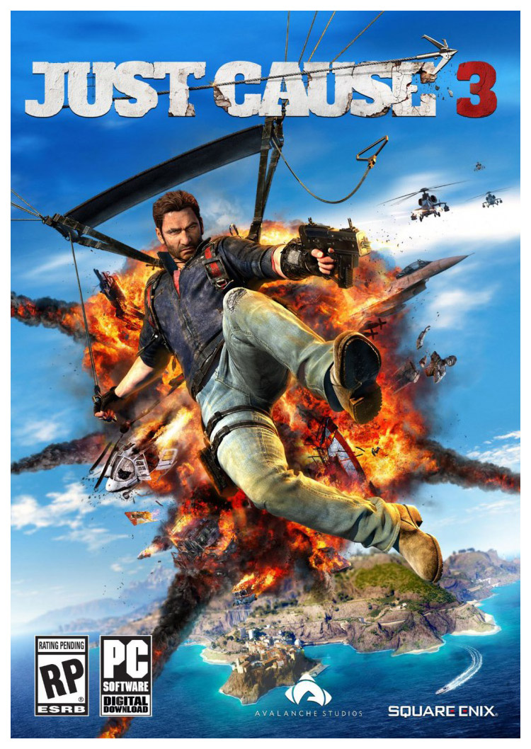 Игра для PC Just Cause 3 Collector's Edition