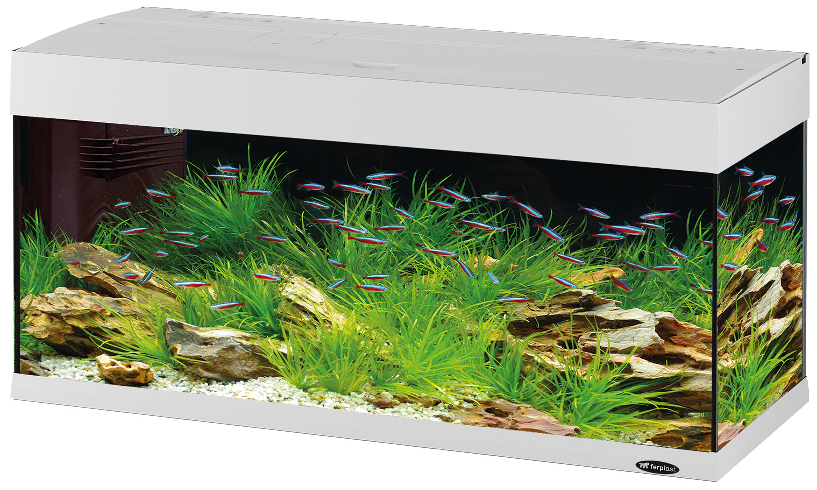Аквариум для рыб Ferplast Dubai 120 LED,