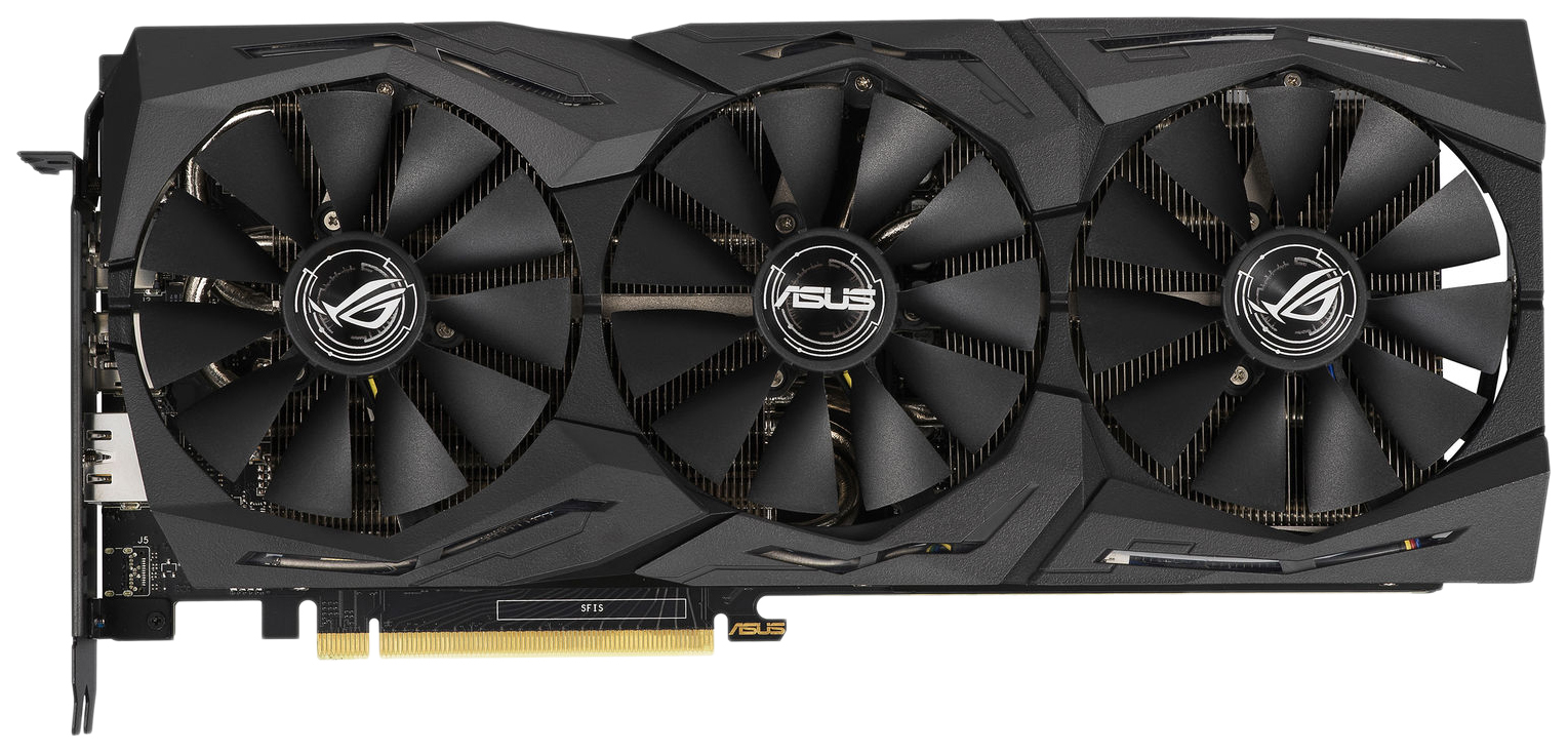 Видеокарта ASUS ROG Strix nVidia GeForce RTX 2060 (ROG-STRIX-RTX2060-A6G-GAMING) фото