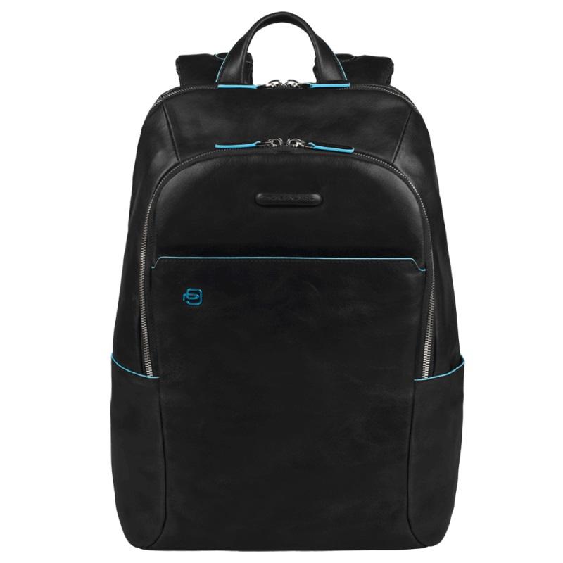 Рюкзак кожаный Piquadro Blue Square кожаный черный