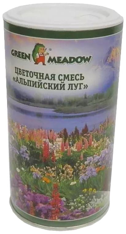 Семена Смесь цветов Альпийский луг, 0,05 кг Зеленый ковер