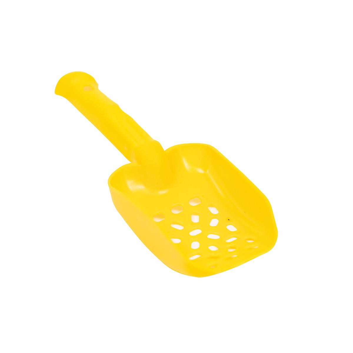 Совок Киспис из антибактериального ЭКОпластика 26см (желтый)