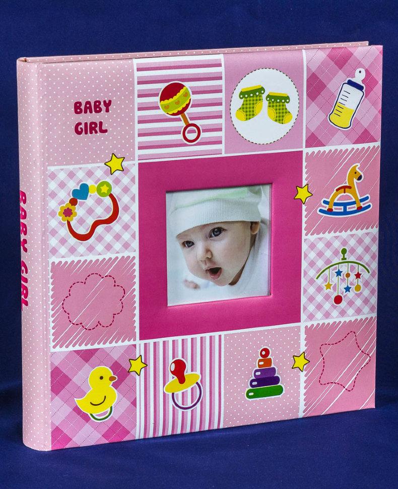 Фотоальбом детский Серия 076 магнитный 30 листов 31х32 см