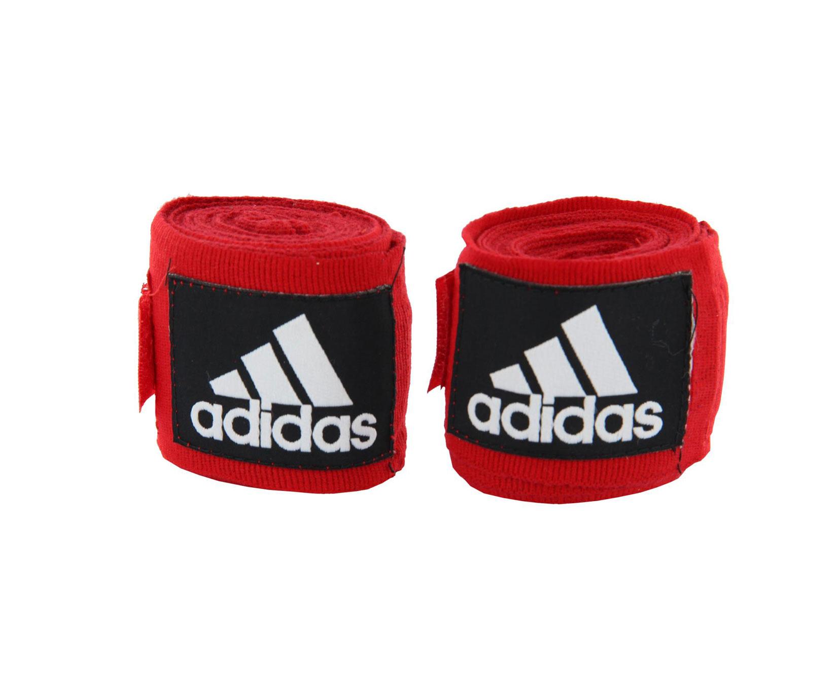 Бинт эластичный Adidas Boxing Crepe Bandage красный