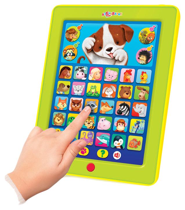 Интерактивная игрушка Азбукварик Планшетик Дружок