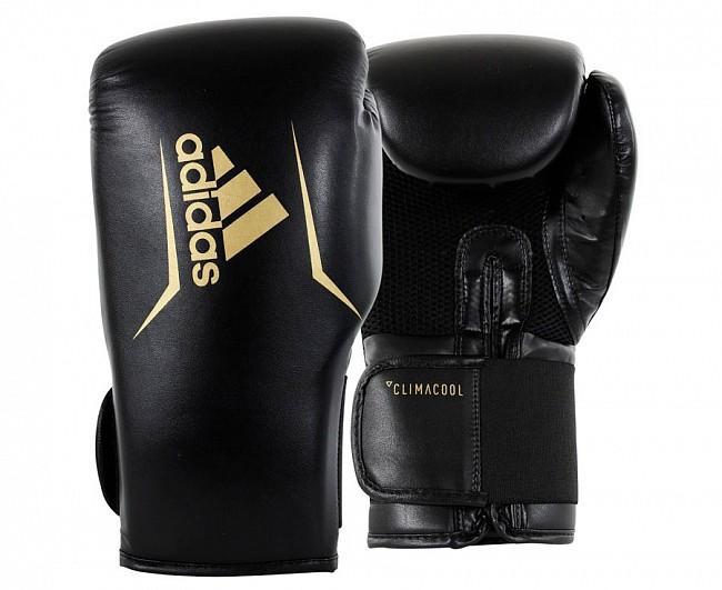 Боксерские перчатки Adidas Speed 75 черные