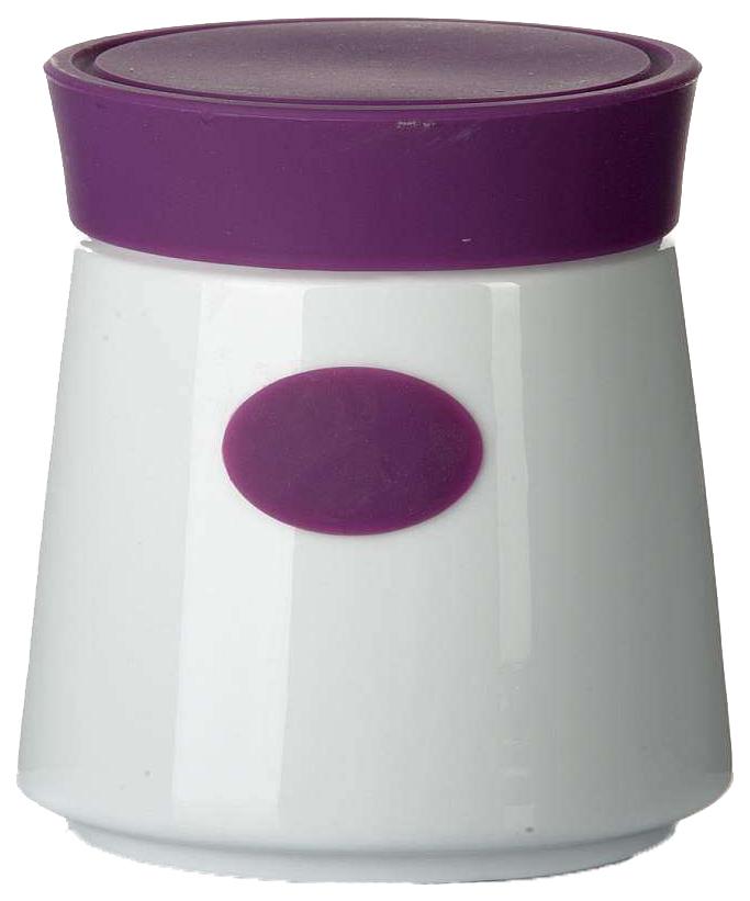 Банка для хранения House & Holder 7D505 Белый, фиолетовый по цене 875