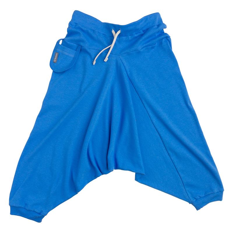 Купить Брюки детские Bambinizon Гавань ШТ-Я.СИН р.116 голубой, Детские брюки и шорты