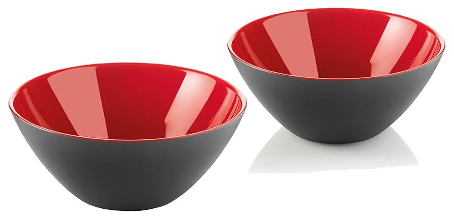 Набор мисок Guzzini 281412140 Красный, черный