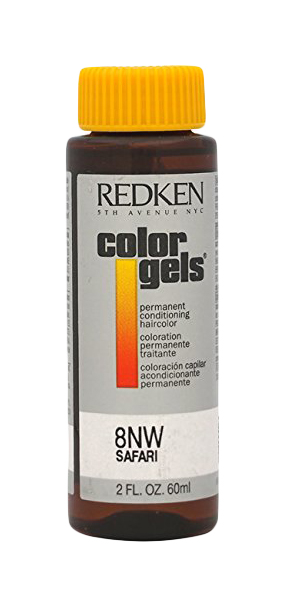 Краска для волос Redken Color Gels Lacquers 8NW P1594200 3*60 мл Safary
