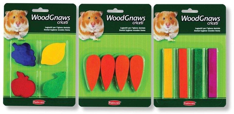 Игрушки Padovan Wood Gnaws Criceti деревянные