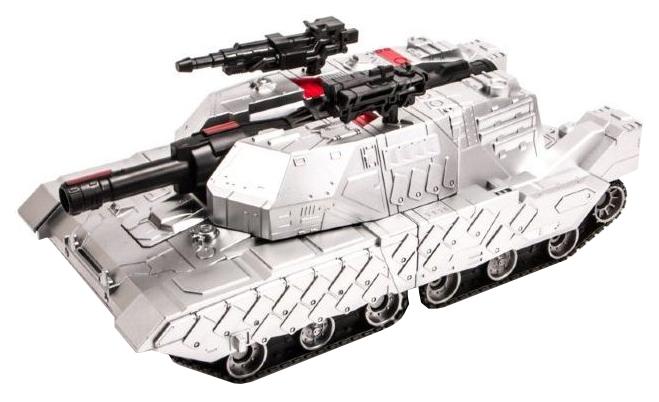 Радиоуправляемый трансформер танк Meizhi, стреляющий присосками 1:10