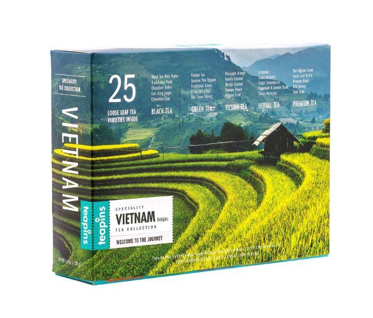 Чай подарочный Teapins Sense Asia Vietnam Delights листовой ассорти 25 чаев