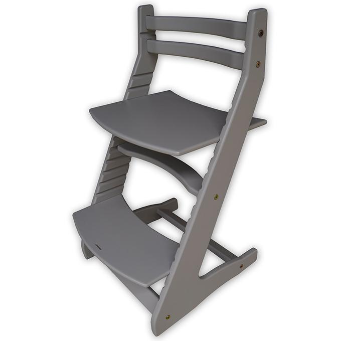 Детский растущий стул Вырастайка серый