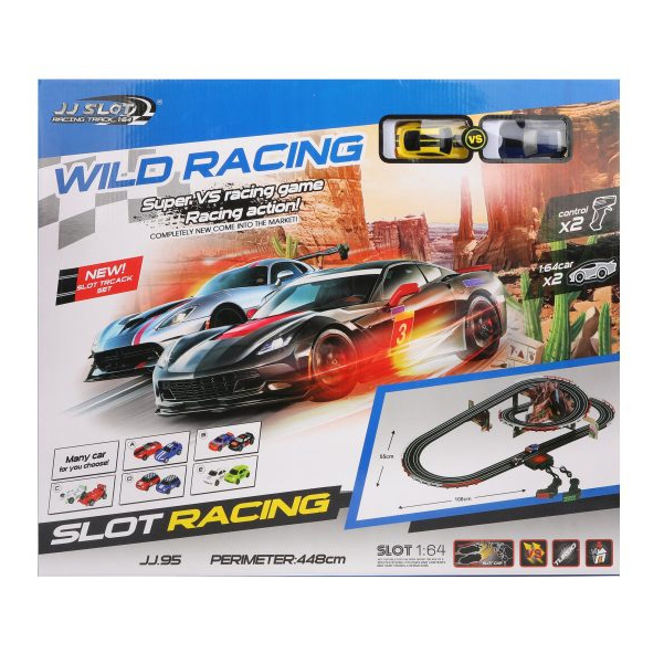 Купить Автотрек Наша игрушка электрифицированный Y255933A, Детские автотреки