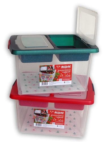 Ящик для елочных игрушек