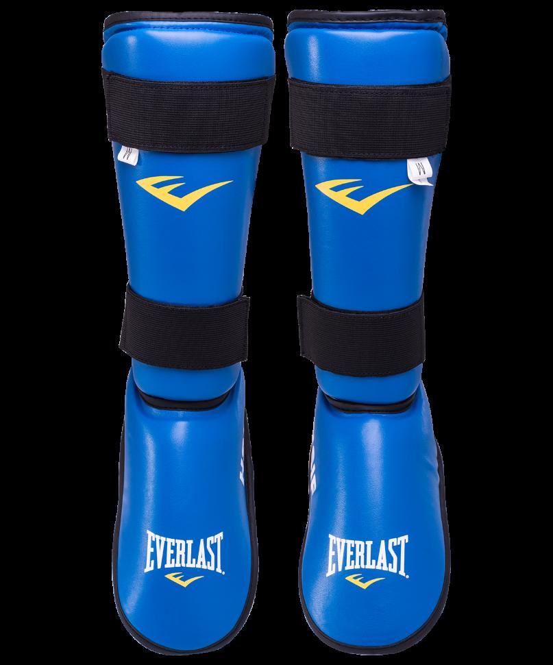Защита голень стопа HSIF RF7250, синий, M