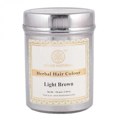 Хна для волос Khadi Natural светло коричневая