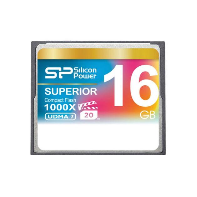 Карта памяти Silicon Power Compact Flash 16GB