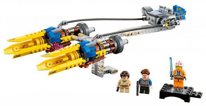 Конструктор LEGO Star Wars Гоночный под Энакина