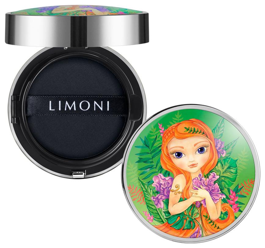Тональный крем Limoni All Stay Cover Cushion Jungle Princess SPF 35 PA++ тон 01 15 мл фото