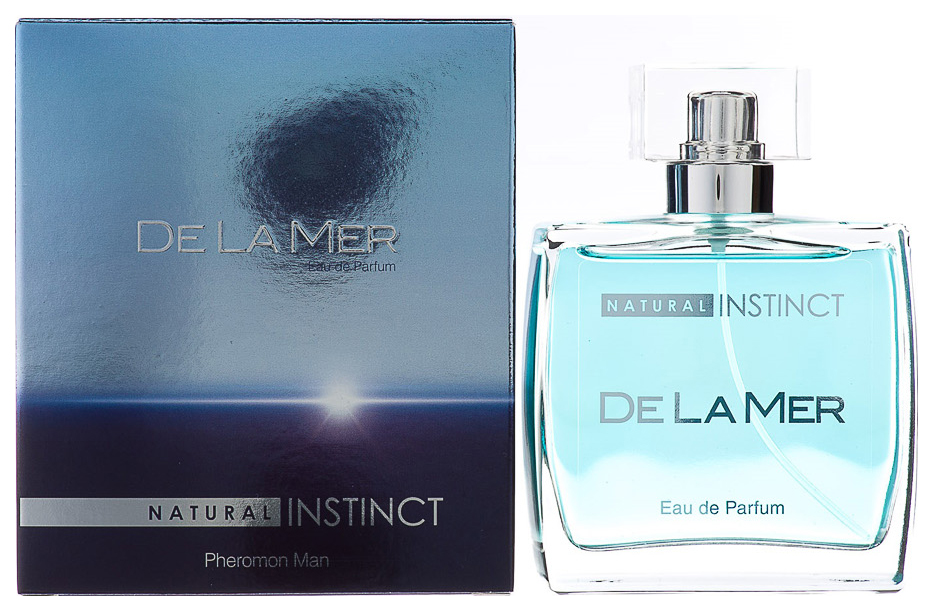 Мужская парфюмерная вода с феромонами Парфюм престиж Natural Instinct De La Mer 100 мл фото