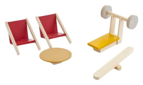 Набор мебели для мини-кукол – Спортивный уголок PAREMO PDA517-04