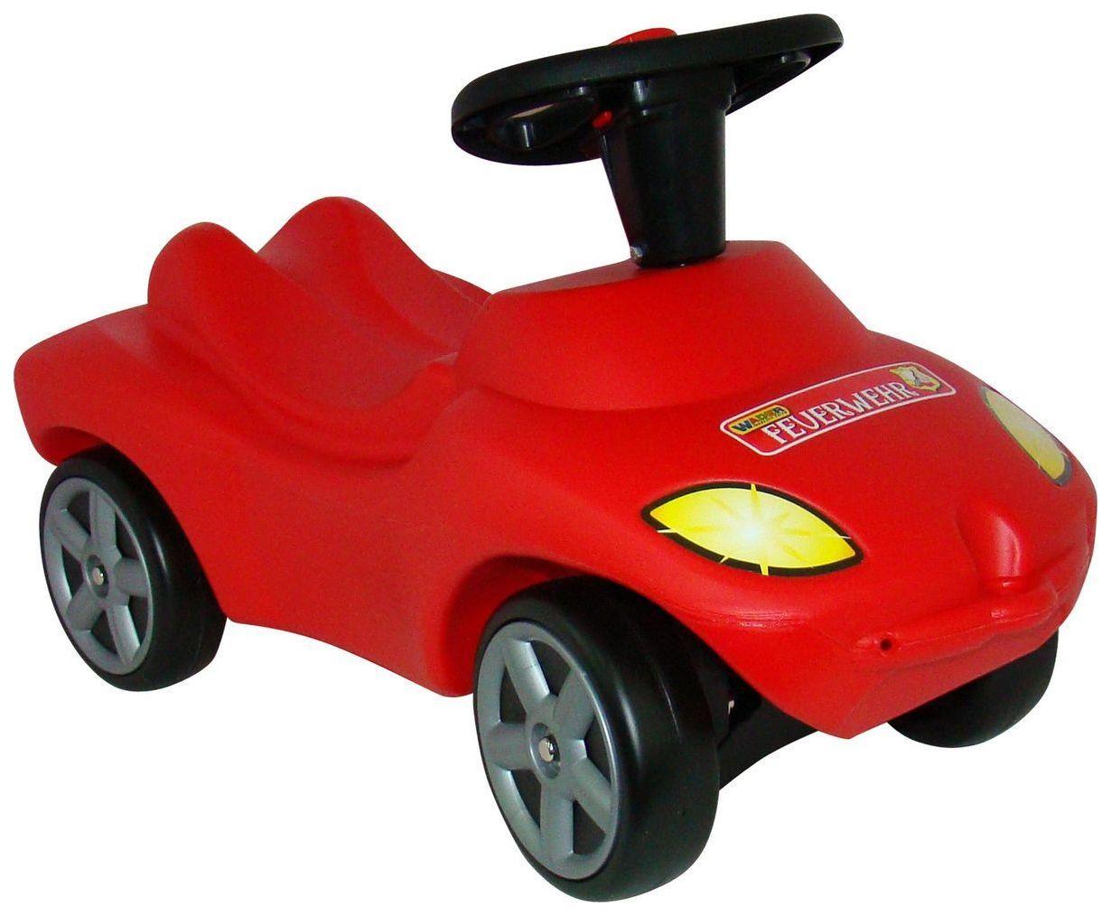 Купить Детский транспорт, Машина-каталка Wader Пожарная команда Красный, Машинки каталки