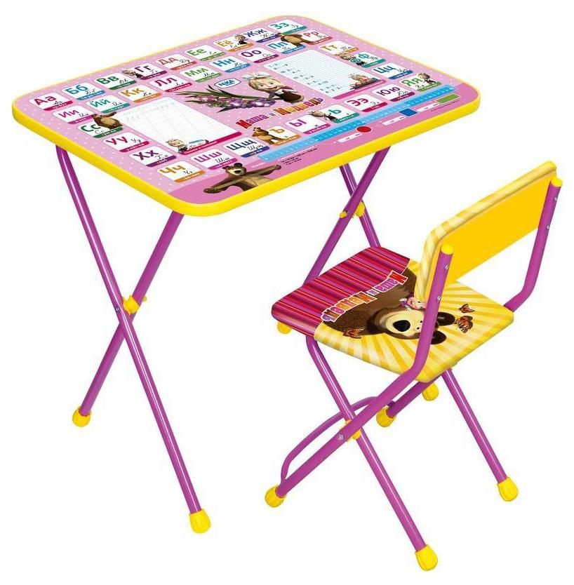 Комплект детской мебели Ника Познайка Азбука 3: Маша и Медведь КП2 Nika